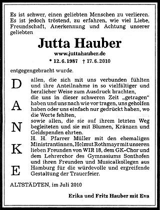 Allgäuer Zeitung 28. Juli 2010